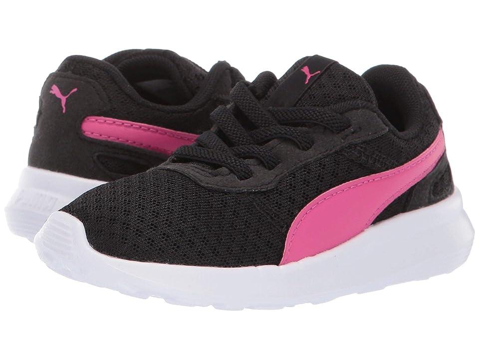 Puma Kids ST Activate AC (Toddler) (Puma Black/Fuchsia Purple) Kids Shoes