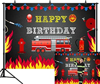 fire truck party ideas
