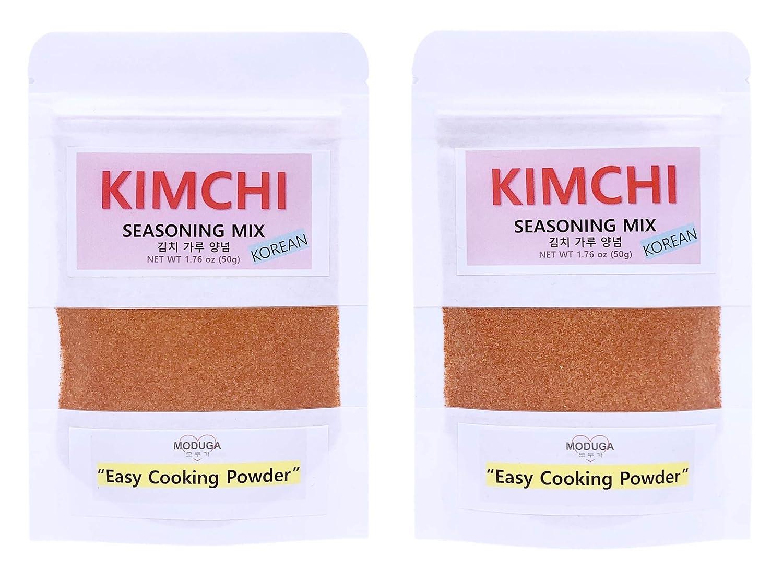 overseas MODUGA's Omaha Mall Gourmet Korean Kimchi Seasoning 1.76Oz #1 Original pa