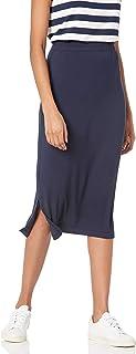 Sponsored Ad - Amazon Essentials Women's Pull on Knit Midi Skirt