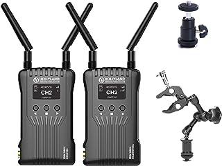 Hollyland マルス 400S ワイヤレス SDI HDMI ビデオ 伝送 システム iOS と Android アプリ 監視 OLED ディスプレイ付き 400ft 3 シーン モード 外部 オンーカメラ モニター DSLR ミラーレス...