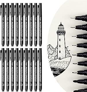 Fineliner Pens SUNSHINETEK Pigment Pens Fine Liner Pens