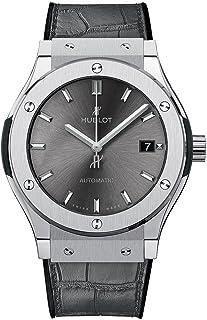 Hublot - Reloj clásico de titanio gris de 45 mm para hombre