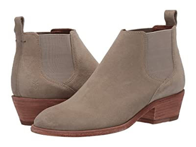Frye Carson Chelsea (Light Grey Suede) Women