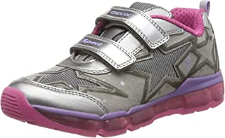 Geox J Android Girl B, Basket Fille