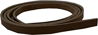 Springfield Leather Company`s Chestnut Bridle Strip, 1/2 inch x 72 inch