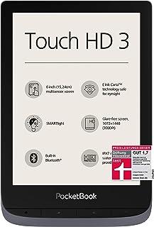 PocketBook e-Book Reader 'Touch HD 3' (16 GB minne; 15,24 cm (6 tum) E-Ink Carta Display; SMARTlight; Wi-Fi; Bluetooth) i ...