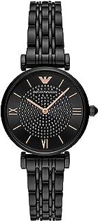 Emporio Armani orologio donna Gianni T-Bar solo tempo acciaio nero AR11245