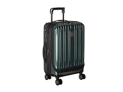 Delsey Chromium Lite International Expandable Spinner Carry-On (Emerald) Carry on Luggage