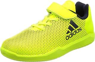 adidas Unisex Kids' Altaturf X K Fitness Shoes, Yellow (Amasol/Tinley/Ftwbla 000), 1.5UK Child (CG3112_000)