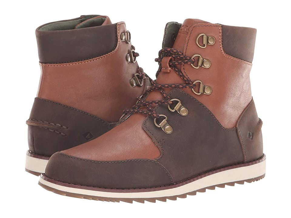Sperry Kids Windward Boot (Little Kid/Big Kid) (Brown/Tan Leather) Boys Shoes
