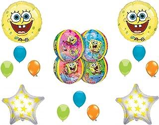 NEW Spongebob Squarepants Orbz Happy Birthday balloons Decorations Supplies