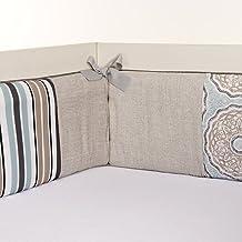 product image for Glenna Jean Luna Bumper, Blue/Taupe/Grey/Tan