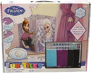 Frozen For Girls Fun-Tiles Night Light Activity Kit