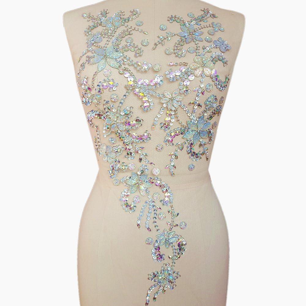 DIY Supply Clothing Decoration Navette Sew On Flatback Rhinestones wedding dress,prom dress #1034