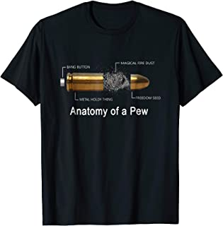 Anatomy Of A Pew Labeled T Shirt