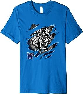 Memphis Tigers Fierce Tiger T-Shirt - Apparel