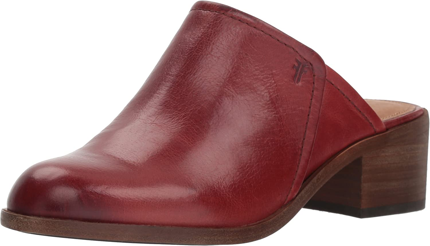 Woherren Claire Mule, rot Clay, 6.5 M US