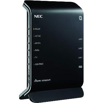 NEC Aterm WG1200HP3 [無線LANルーター/867+300Mbps] 親機単体 (11ac対応) 型番:PA-WG1200HP3