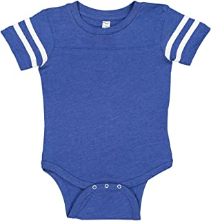 Rabbit Skins Infant Jersey Short Sleeve Football Bodysuit
