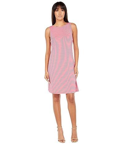 Tommy Bahama Cassia Stripe Sheath Dress Short Sleeve