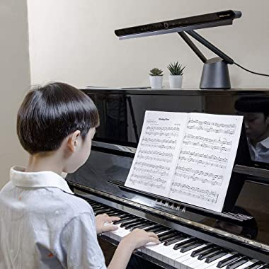 BenQ PianoLight: Piano lamp, dimmable, Adjustable Height and Colour temperatures, no Direct Glare, Easy to Eye, Automatic dim