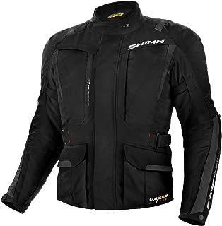 SHIMA Hero, Touring Motorcycle Jacket Cordura Hitena, (Black, S)
