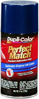Dupli-Color EBGM03937 Dark Blue Metallic General Motors Exact-Match Automotive Paint - 8 oz. Aerosol