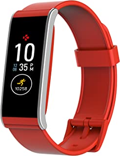 MyKronoz ZeFit4 Smart Watch and Activity Tracker - Red (Zefit4-Red)