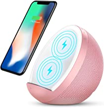 $49 » Sponsored Ad - Wireless Charger Qi-Certified Wireless Charging Dock with Bluetooth Speaker 10W Charging Station for iPhone...