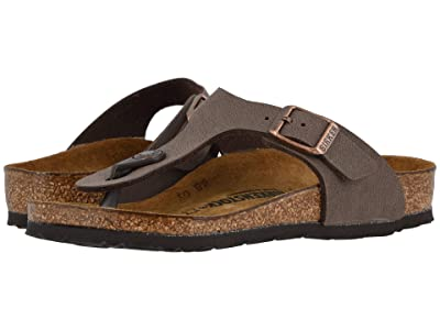 Birkenstock Kids Gizeh (Little Kid/Big Kid) (Mocha Birkibuc) Girls Shoes
