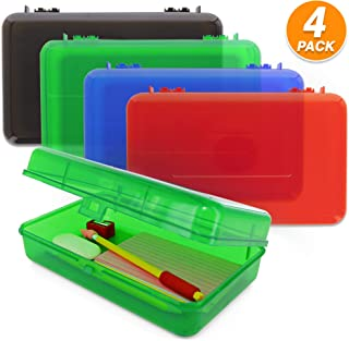 Best plastic hinged pencil box Reviews