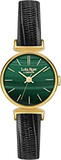 Lola Rose Womens Analogue Classic Quartz Watch with Leather Strap LR2012