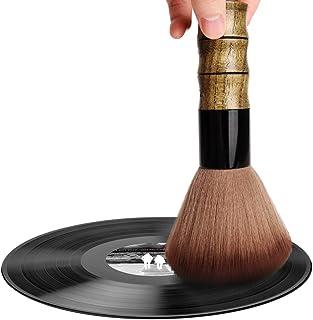 Facmogu LP Cleaning Brush, Soft Brush Vinyl Record Cleaner Anti-Static Soft Turntable CD Album Cartridge Clean Hair Salon