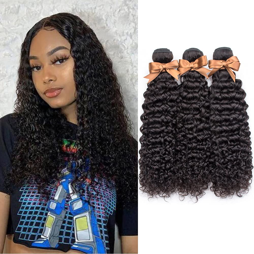 ALLRUN Super Special SALE held 10A Kinky Curly Human Unprocessed 3 Mail order cheap Bundles Hair Brazilia
