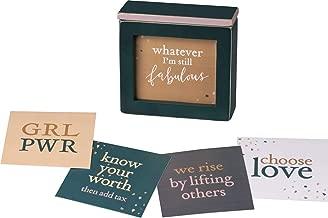Primitives by Kathy Words of Wisdom Inspirational Keepsake Box, Empower