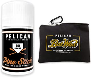 Pine Tar Pine Stick 90 Grams for Better Baseball Grip Comes with a Storage Bag