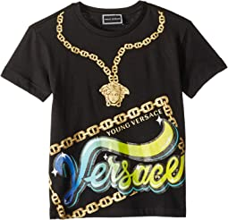 Short Sleeve Medusa Necklace Graphic T-Shirt (Toddler/Little Kids)