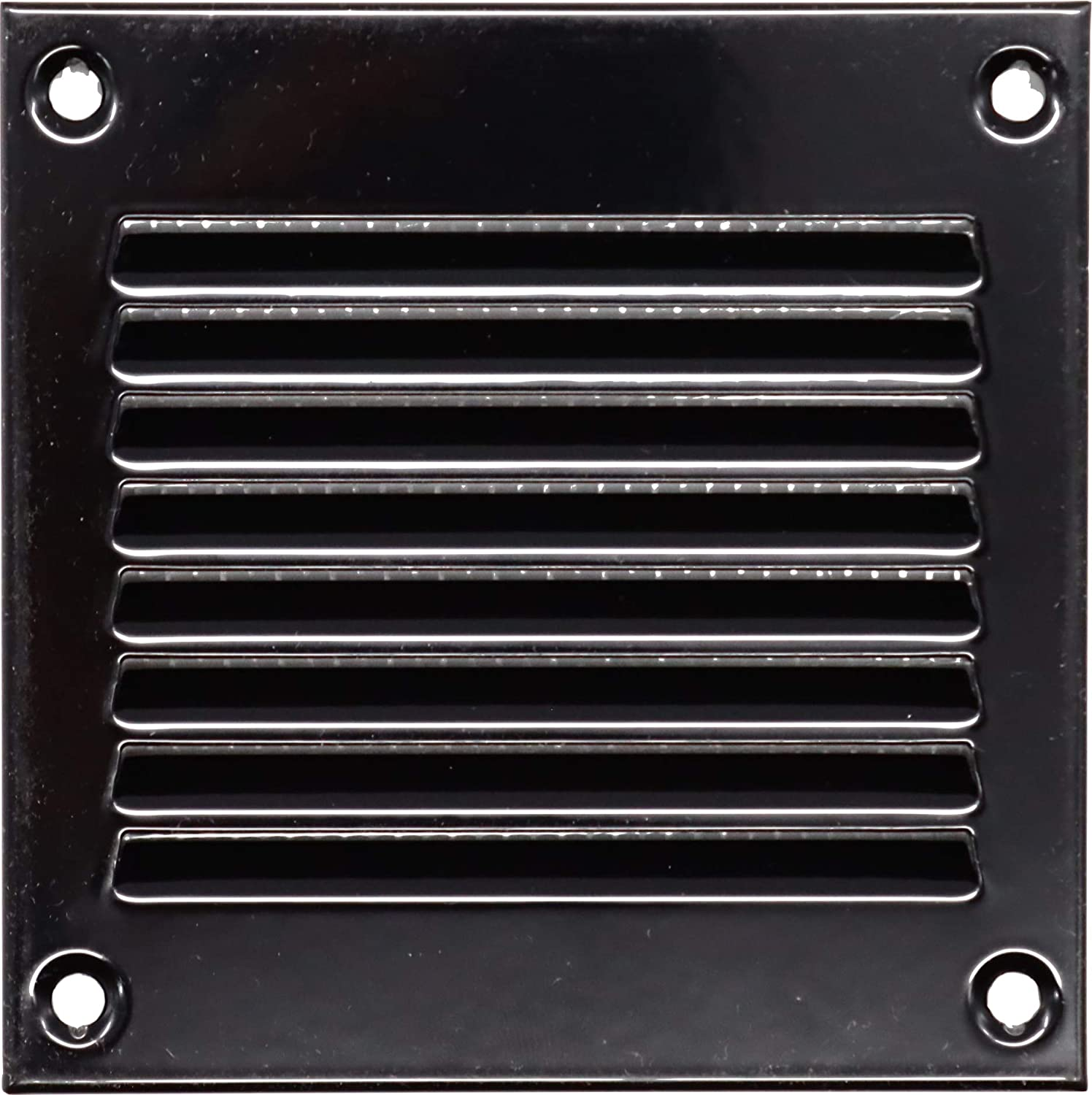 Vent Systems 4x4 inch Air Attention brand Metal Return Challenge the lowest price Cover - Black