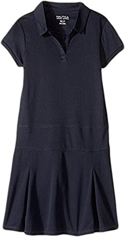 Girls Plus Short Sleeve Performance Dress (Big Kids)