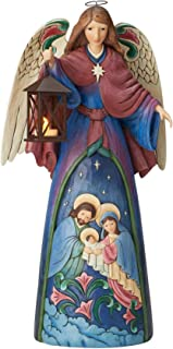 ENESCO Lighted Angel with Holy Scene 6003362