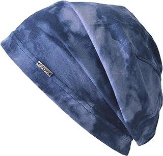 [カジュアルボックス] 抗がん剤 夏用医療用帽子 スモーク コットン100% ビーニー サマーニットキャップ 春夏用