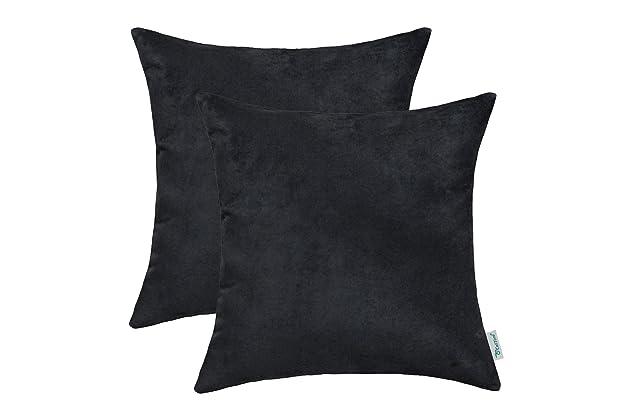 Super Best Black Throw Pillows For Couch Amazon Com Machost Co Dining Chair Design Ideas Machostcouk