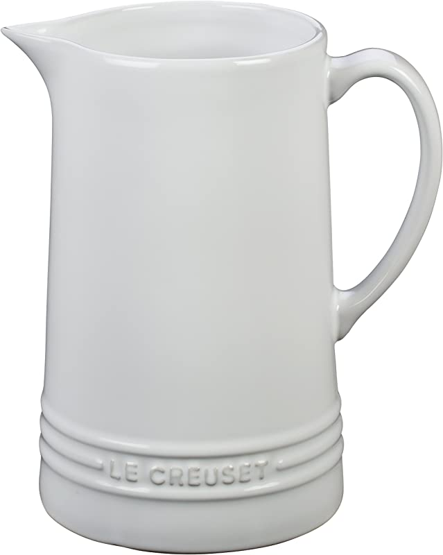 Le Creuset Of America Pitcher White