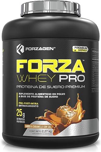 Forzagen Proteína Importada Forzawhey-Pro   100% Whey Protein   5 lb (2,27 kg)   71 Servicios x Envase   Delicioso Sa...