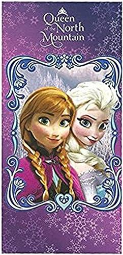 Lila K gin der North Mountain Anna und Elsa Disney Frozen Strandtuch