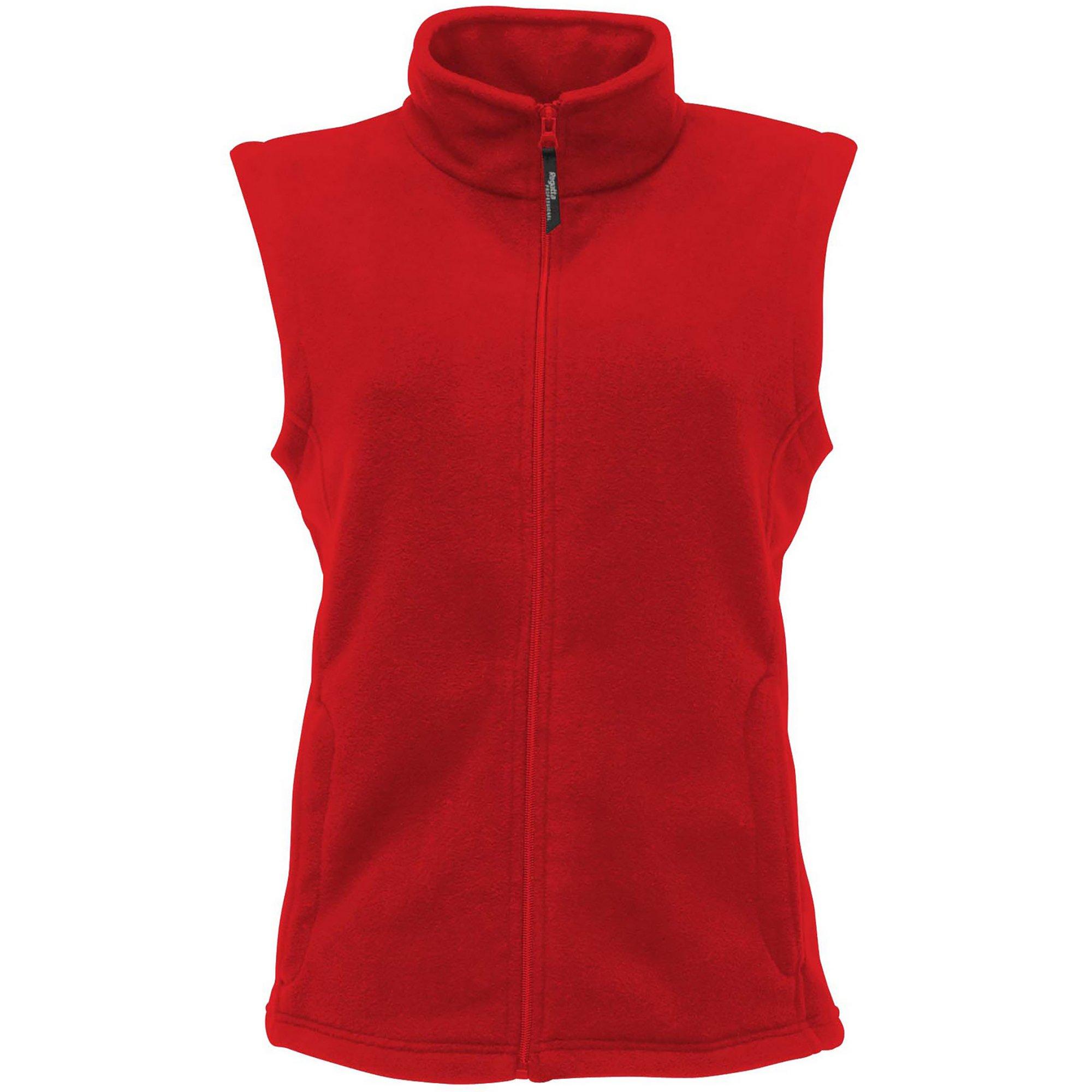 Regatta Damen Micro Fleece Bodywärmer 36 Classic Red