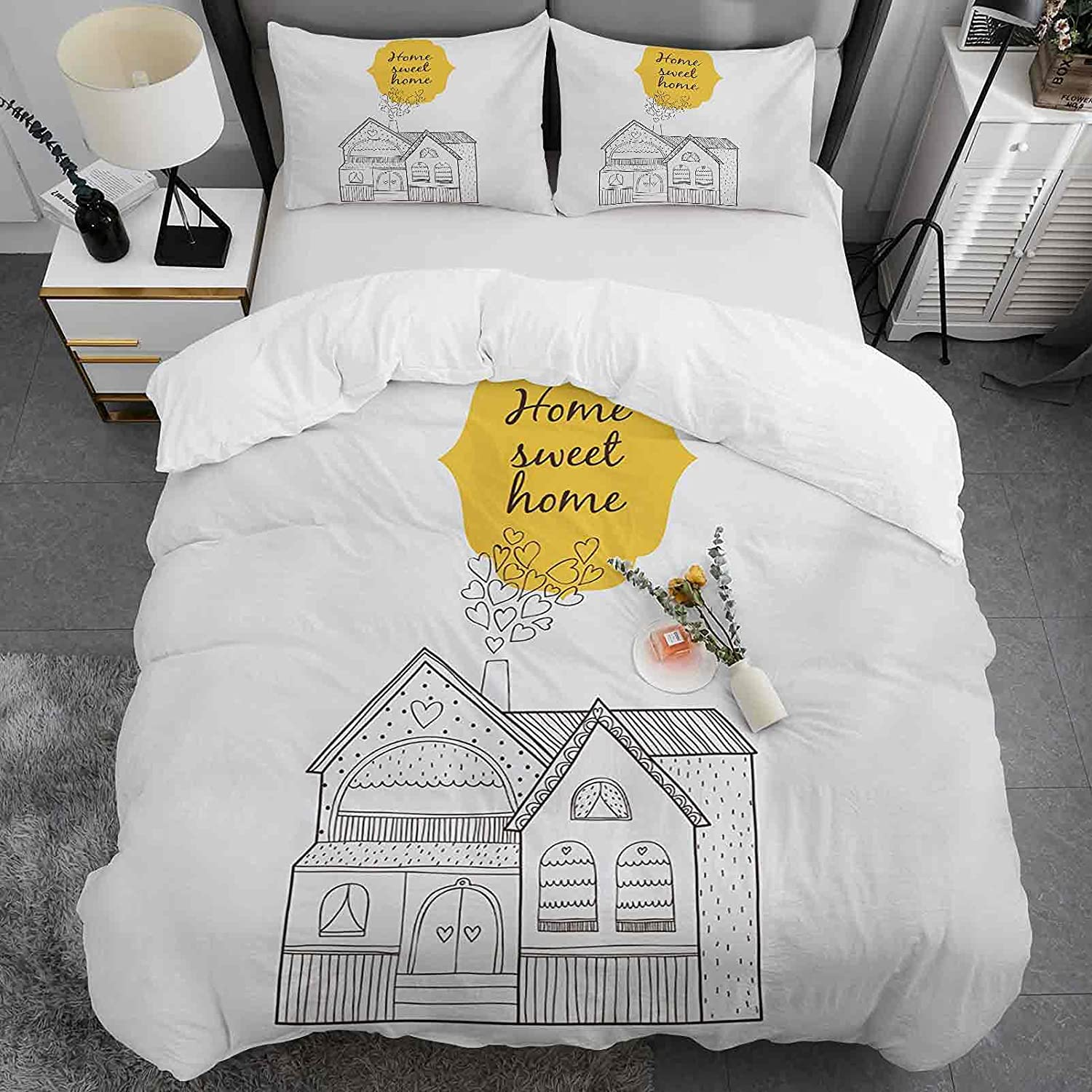 Home Outlet sale feature Sweet Duvet Cover Set Store King Village with Do Size House