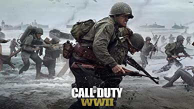 Gifts Delight Laminated 42x24 Poster: Ww2 - Call of Duty WWII 2017 s HD s
