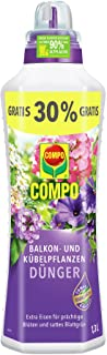COMPO Balkon- und Kübelpflanzendünger für alle Balkon- und Kübelpflanzen,..